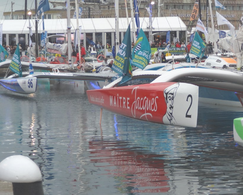 Route du rhum à Saint-Malo_Paris